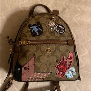 Rare Small coach backpack or crossbody